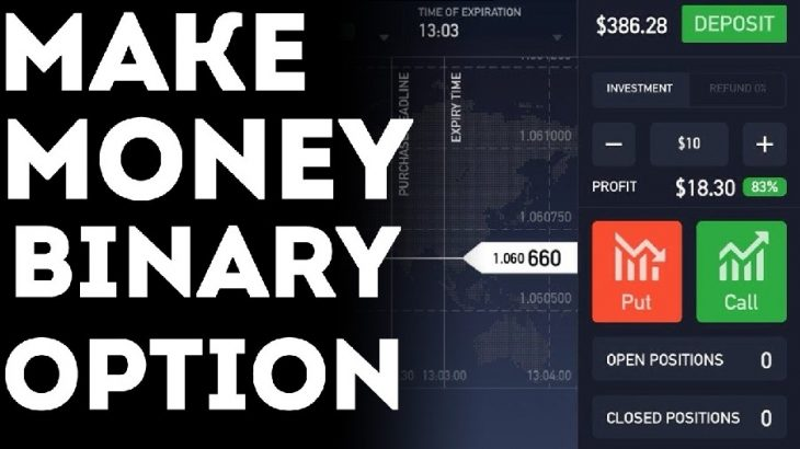 Is it possible to make money trading binary options