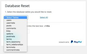 Reset your website and start from scratch using WP Reset Plugin